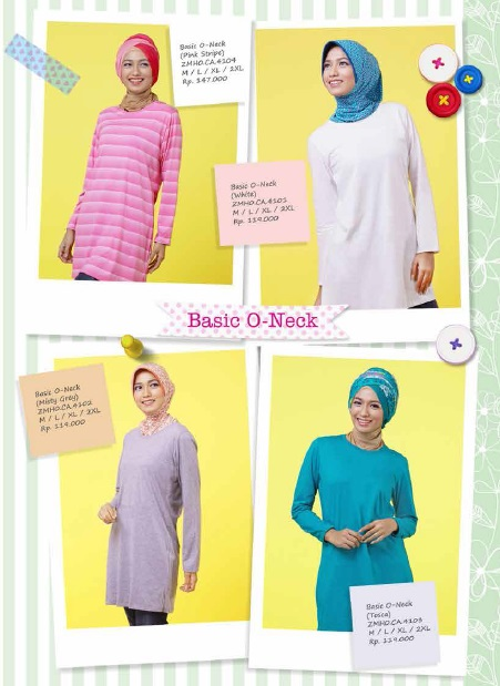 ZOYA Home Basic O-Neck