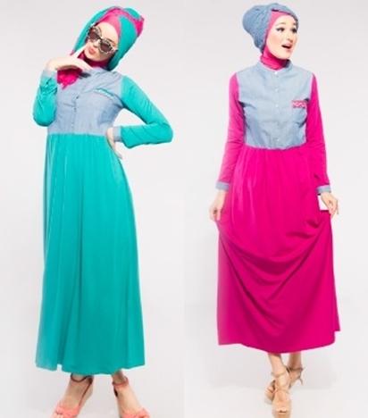 Tera Emerald & Shocking Pink S,M,L,XL IDR 289rb Bahan rayon